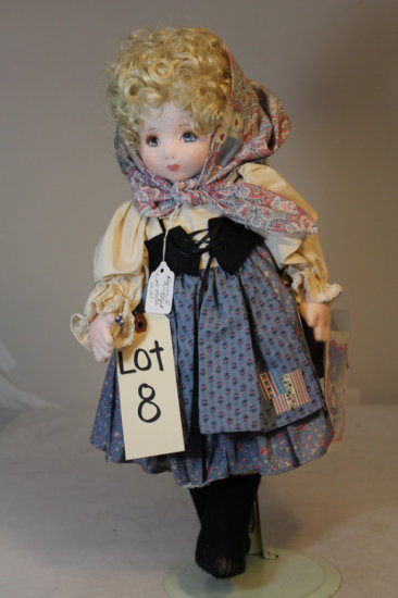 American Beauty Doll by Shirley A. Peck No. 26/505
