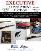 EXECUTIVE CONSIGNMENT AUCTION