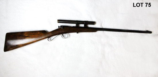 SAVAGE MOD: 1908 NSN 22 SHORT BOLT ACTION RIFLE W/HAIR TRIGGER & GERMAN DRP