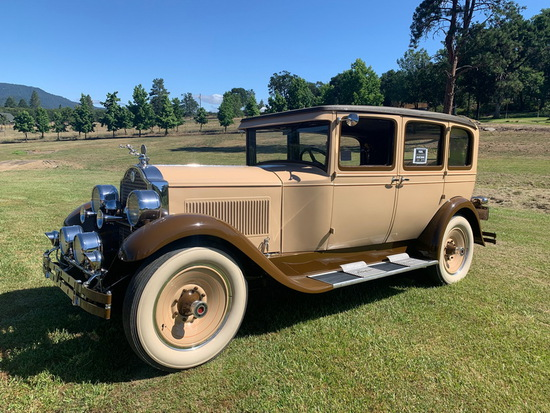 1928 Packard 6 Cylinder Sadan, Original Engine & Upholstery (Excellent Condition and Runs Good)