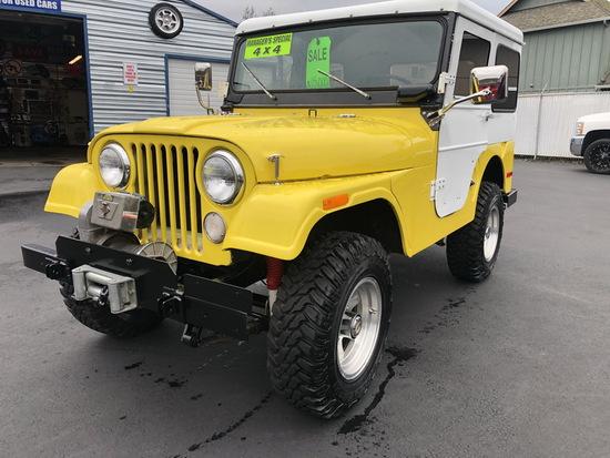 1970 Jeep CJS W/Winch (Restored Not Original) - Clean