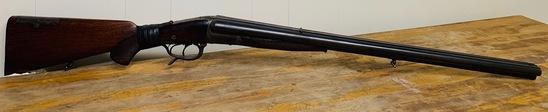 WWII German Drilling Fluss Stahl 18x18x 8.72 3 Barrel Shotgun/Rifle S/N:39986()