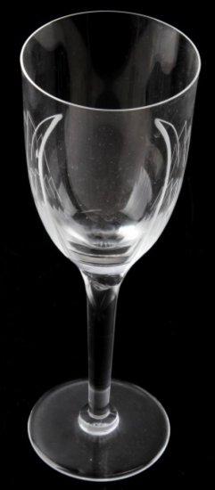 RENE LALIQUE GLASS ANGEL DESIGN CHAMPAIGN FLUTE