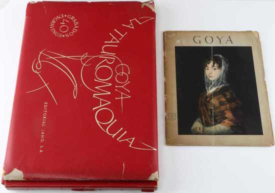 GOYA SPANISH ENGRAVINGS LA TAUROMAQUIA COLLECTION