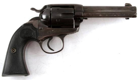 1906 COLT BISLEY ANTIQUE 6 SHOT REVOLVER .32 20