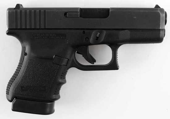 GLOCK 30 SEMI AUTO PISTOL IN .45 CALIBER BLACK