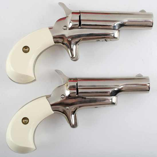 COLT CASED .22 CAL SHORT DERRINGER PISTOL SET