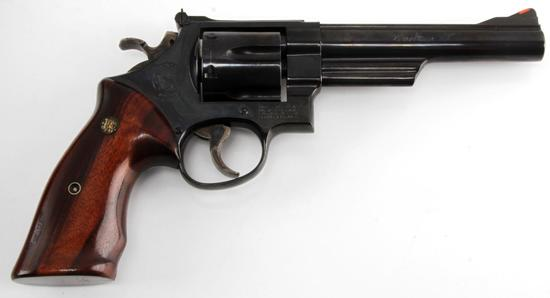 SMITH & WESSON MOD 57 1 6 SHOT REVOLVER .41 MAG