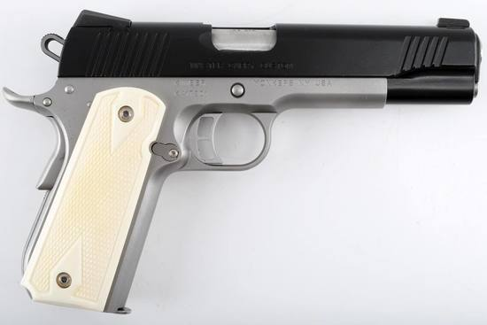 KIMBER MASTER CARRY CUSTOM SEMI AUTO PISTOL .45