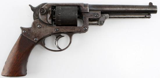 ANTIQUE STARR 1858 ARMY DOUBLE ACTION .44 REVOLVER