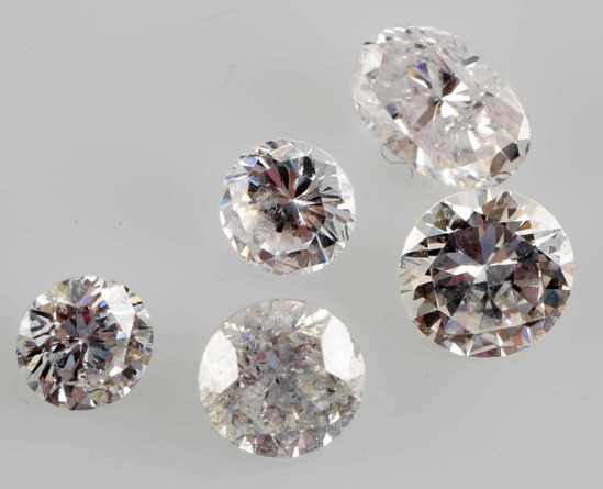 MIXED LOOSE DIAMOND LOT 1.92 TCW OVAL & ROUND CUT