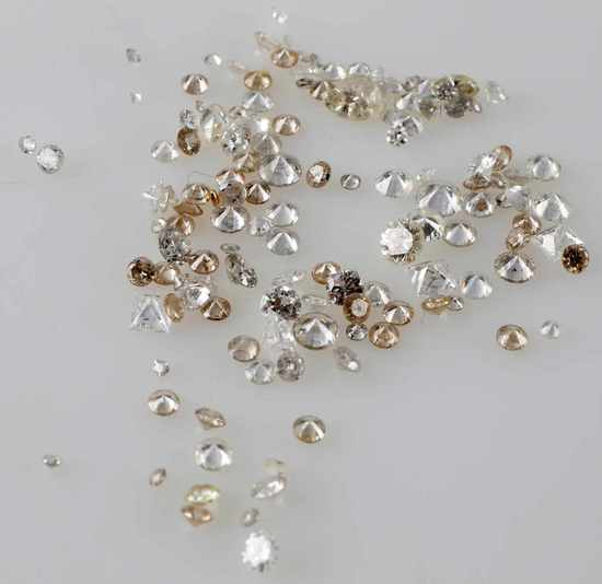 4.97 TCW LOOSE DIAMOND MELEE LOT ROUND PRINCESS