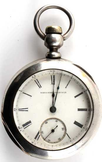 ELGIN PART CONDITION HID KEY SILVER POCKET WATCH