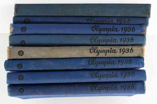 WWII GERMAN OLYMPIC GAMES 1936 BERLIN LOT W 1932