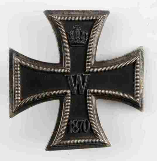 1870 FRANCO PRUSSIAN GERMAN FIRST CLASS IRON CROSS