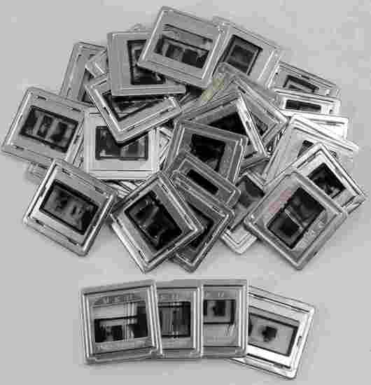 LOT OF 35 WWII GERMAN MICROFILM TDC SLIDE PHOTOS