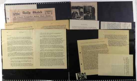 WWII FIELD MARSHAL VON MANSTEIN AS POW LETTERS