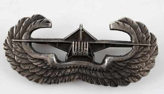 WWII US AMERICAN AIRBORNE GLIDER WINGS BADGE