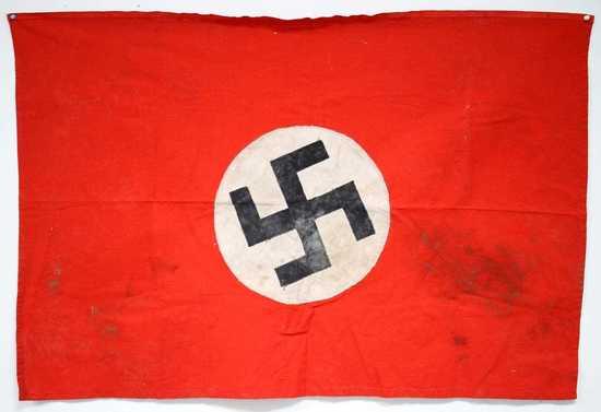 WWII GERMAN THIRD REICH NSDAP FLAG BRING BACK