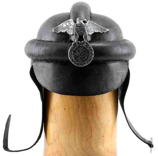 WWII GERMAN THIRD REICH NSKK MOTERCYCLE HELMET