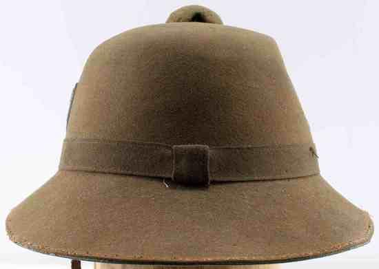 WWII GERMAN THIRD REICH AFRIKA KORPS PITH HELMET