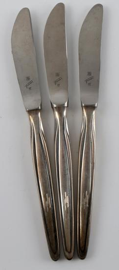 ADOLF HITLER THIRD REICH WWII SILVERPLATE KNIVES