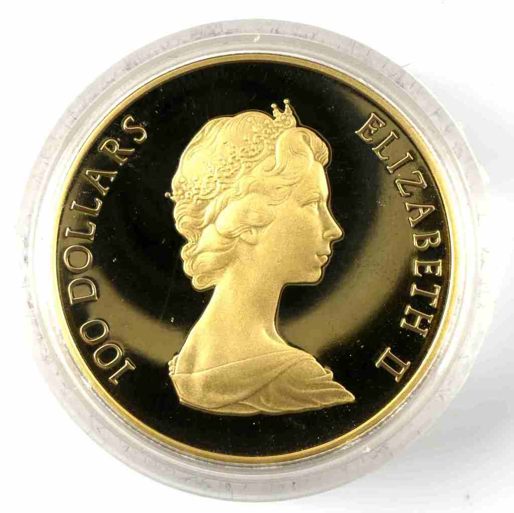 1982 CANADA $100 GOLD CONSTITUTION 22K PROOF COIN