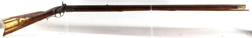 GEORGE MAYER LANCASTER TIGER MAPLE MUSKET .36 CAL