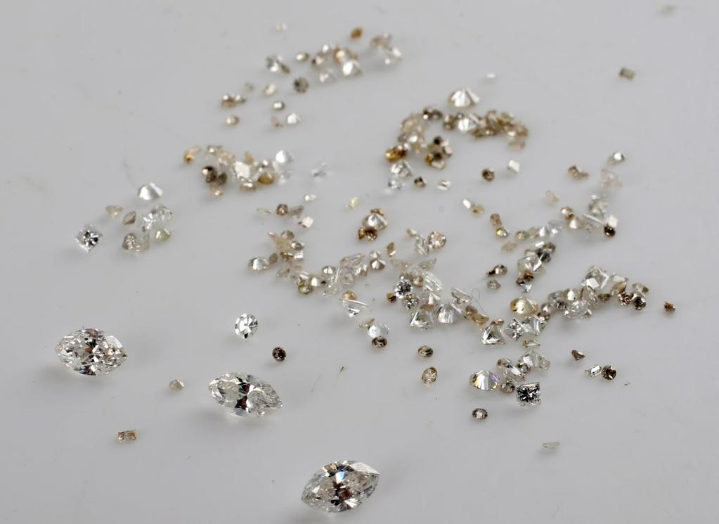 4.10 TCW LOOSE DIAMOND MELEE LOT ALL SIZES SHAPES