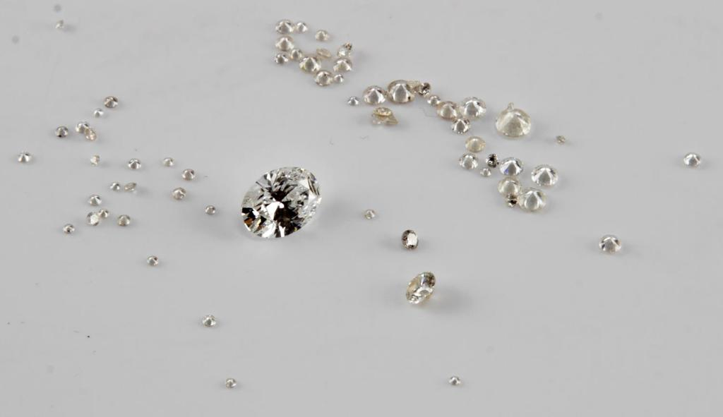 2.5 TCW LOOSE ROUND CUT DIAMOND LOT WITH A .75 CT