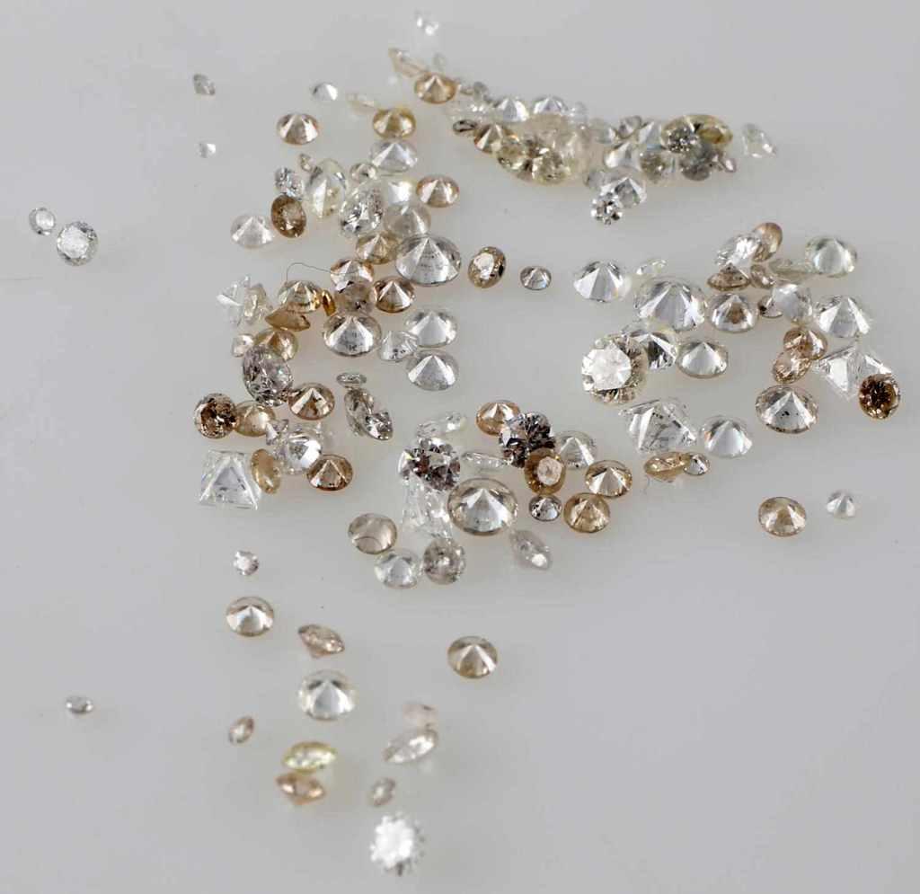 4.97 TCW LOOSE DIAMOND MELEE LOT ROUND PRINCESS