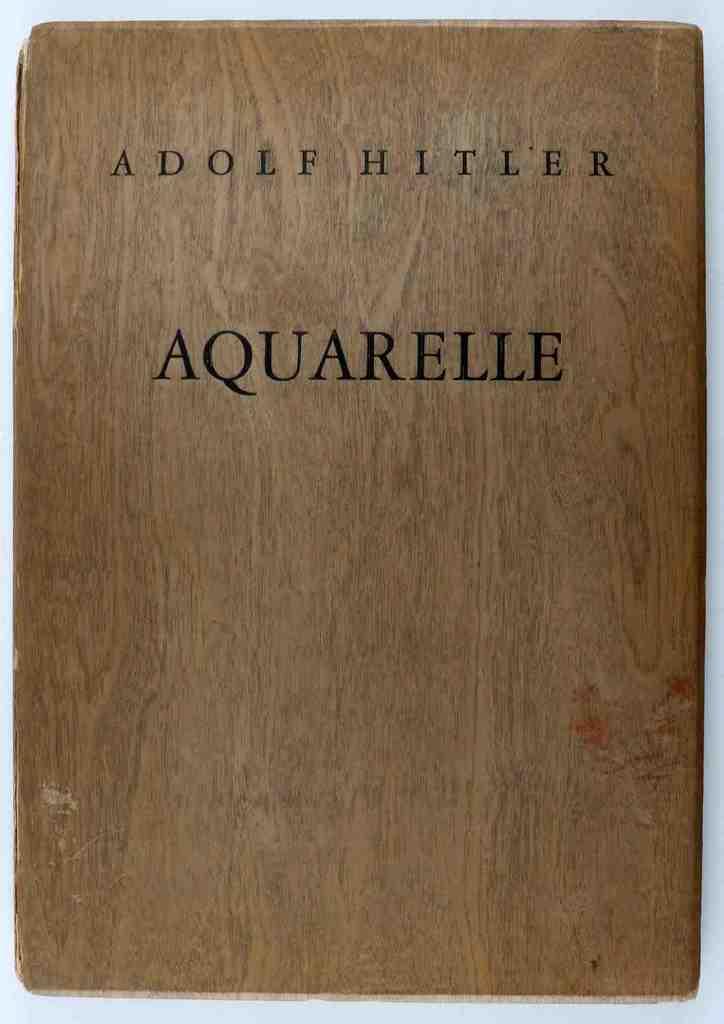 ADOLF HITLER AQUARELLE WATERCOLOR PRINT PORTFOLIO