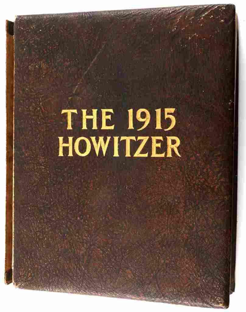 BRADLEY & EISENHOWER 1915 WESTPOINT YEAR BOOK