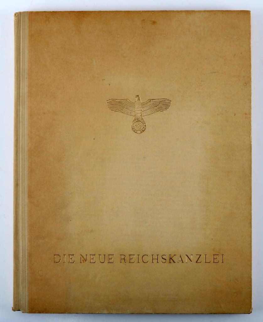 WWII GERMAN DIE NEUE REICHSKANZLEI ALBERT SPEER