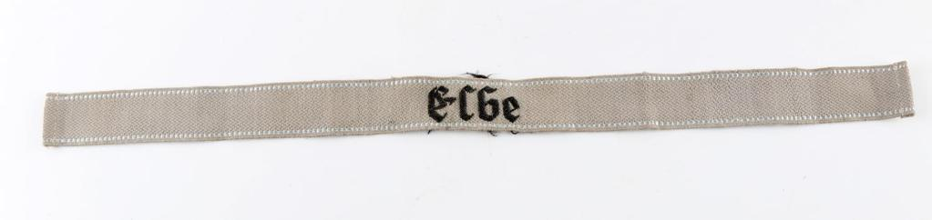 WWII GERMAN WAFFEN SS RESERVES ELBE CUFF TITLE