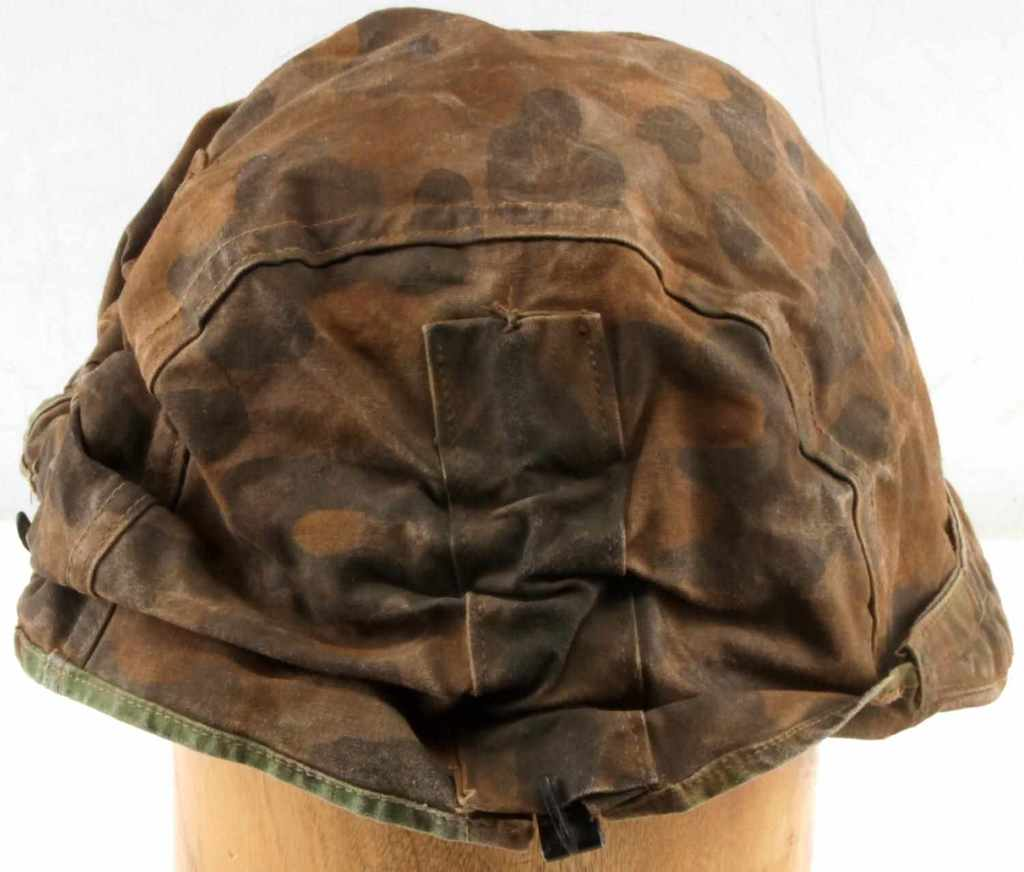 WWII GERMAN WAFFEN SS REVERSABLE HELMET COVER