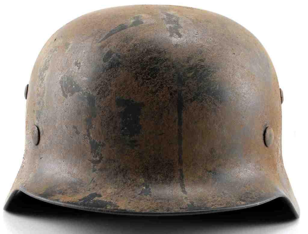 WWII GERMAN THIRD REICH WAFFEN SS M40 HELMET