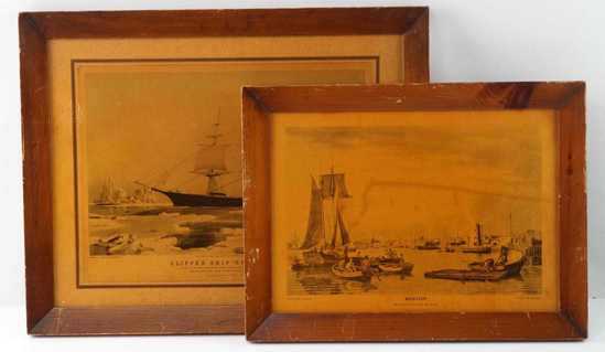 W.J. BENNETT FRAMED PRINTS ON WOOD