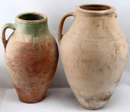ROMAN RECOVERD OLIVE OIL JARS JUGS