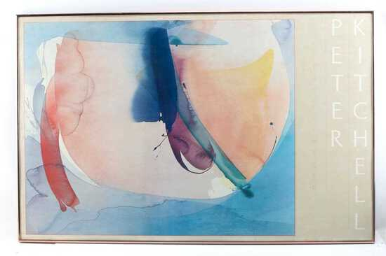 PETER KITCHELL ABSTRACT LIMITED EDITION PRINT