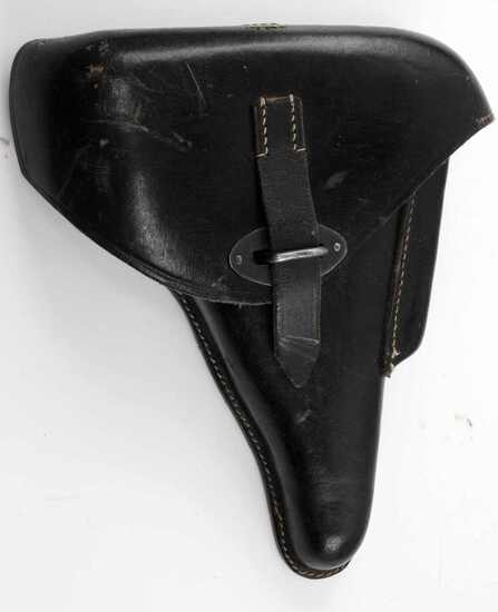 WWII GERMAN MAUSER P 38 LEATHER PISTOL HOLSTER