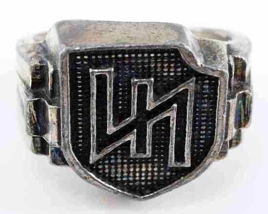 GERMAN WWII WAFFEN SS DUTCH OFFICERS FOREIGN RING