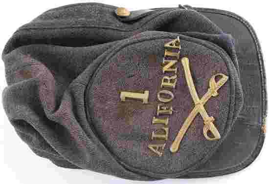 US CIVIL WAR UNION CALIFORNIA CAVALRY CAP