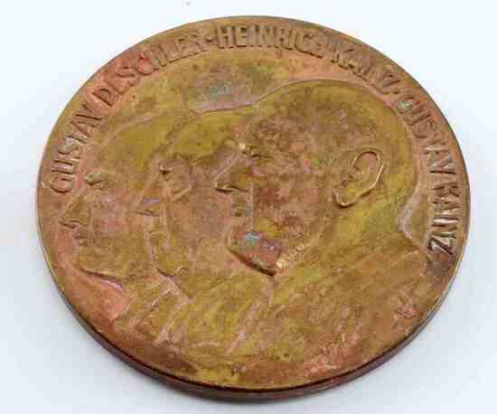 GERMAN KAINZ DESCHLER 1825 1975 TABLE AWARD