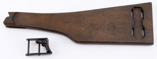WWI IMPERIAL GERMAN ARTILLERY LUGER SHOULDER STOCK