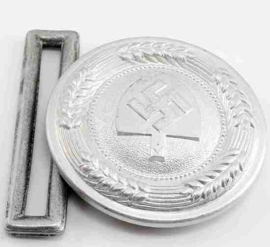 WWII THIRD REICH GERMAN LABOR KORPS BELT BUCKLE