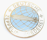 WWII GERMAN ZEPPELIN REEDEREI AIR SHIP BADGE