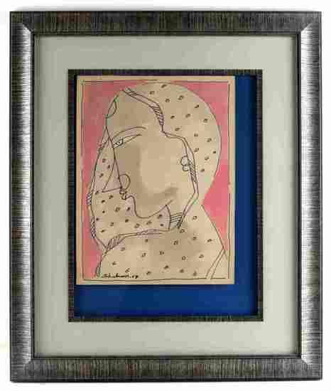 ABDUS SHAKOOR INK AND PEN FEMALE 2007