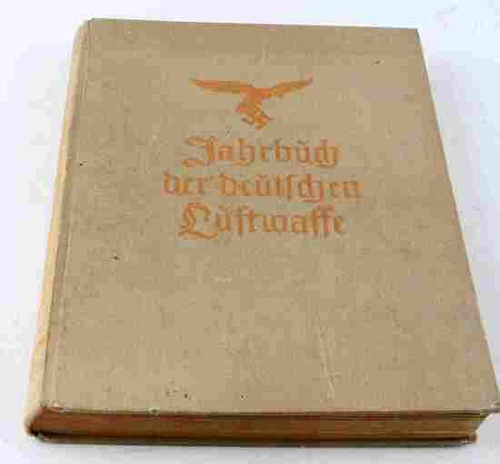 WWII GERMAN THIRD REICH 1939 LUFTWAFFE YEARBOOK