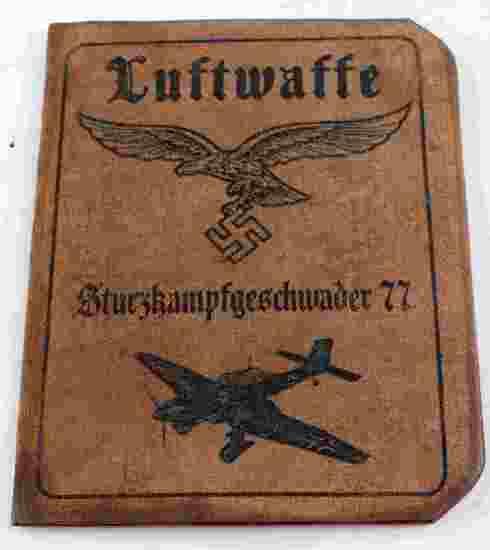 WWII GERMAN 3RD REICH AUSWEIS OF A LUFTWAFFE PILOT
